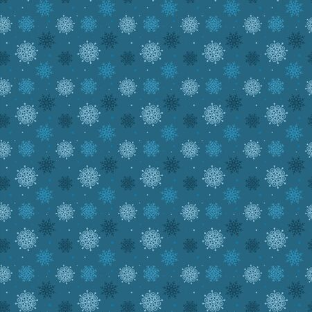 Dark snowflakes pattern.