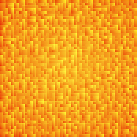 Yellow abstract background. Pattern from different parts. Game backdrop Stok Fotoğraf