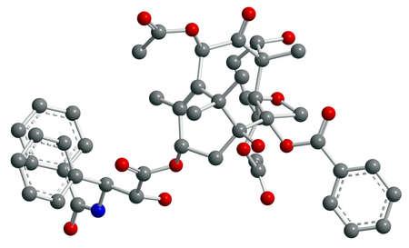 3d modelo de estructura molecular