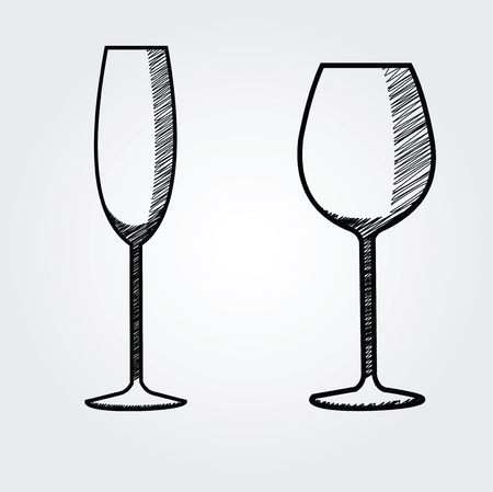 ferment: hand drawn wine collection