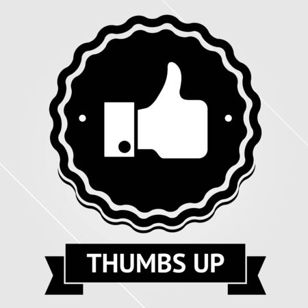 page up: Vintage thumbs up