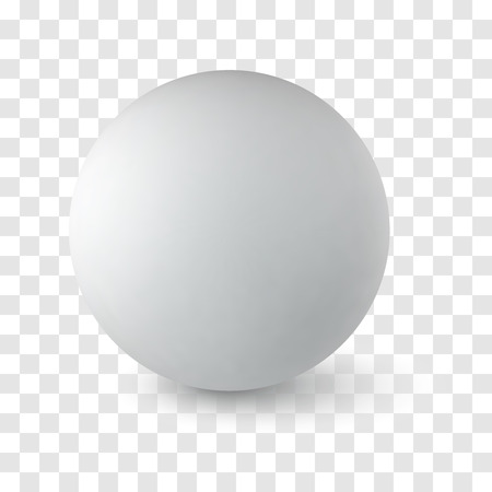 transparency: Vector sphere on transparency background, isolated object