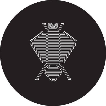 circuit bug Vectores