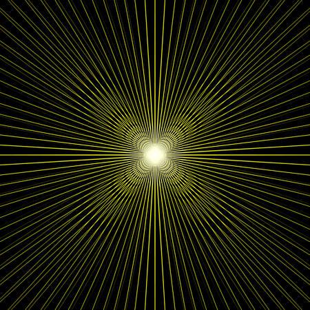 Light at end of tunnel. Vector illustration. backdrop for flyer, presentation, template, brochure, booklet, cover, magazine, banner. light color explosion Illustration