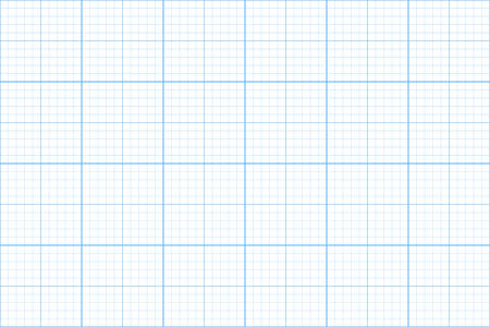 Graph paper illustration. Illustration