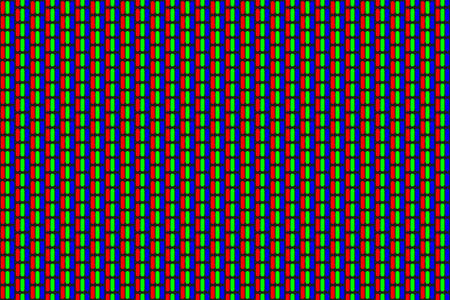 RGB screen dots pattern.