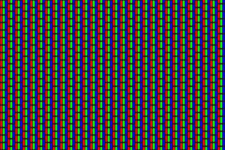 RGB screen dots pattern.