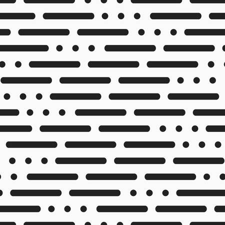 Lines and dots pattern Illustration