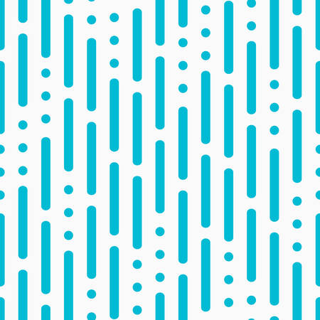 Modern pattern with lines and dots Illustration