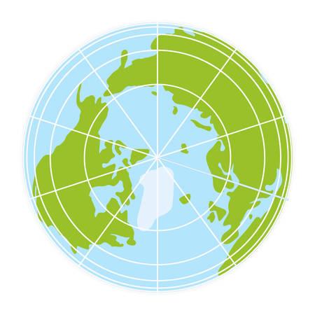 globe grid: World globe icon. vector earth logo. web global symbol with grid