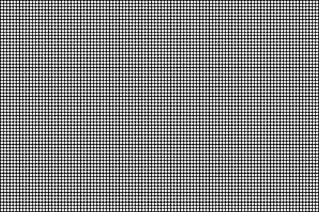 RGB-scherm stippen naadloze patroon. Analoge televisieschermen. Sluit omhoog textuur. Vector