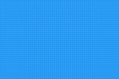 Graph paper. seamless pattern. architect background. blue millimeter grid. vector illustration