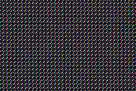 RGB Screen 점선 원활한 패턴입니다. 아날로그 디스플레이 텔레비전. 텍스처를 닫습니다. 벡터