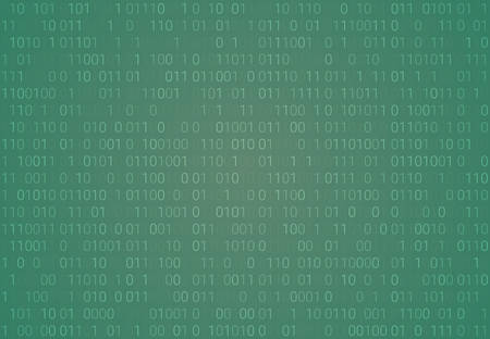 Binary code pattern. Seamless digital technology background. abstract matrix. programming computer code. technology concept. vector illustration