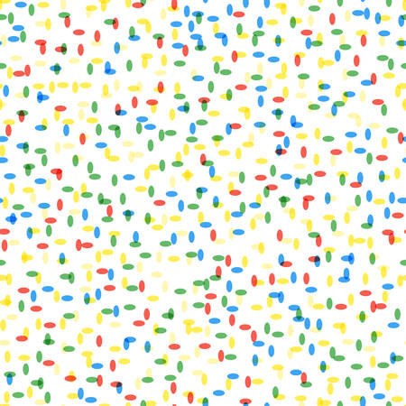 seamless colorful tiny particles pattern on white background. vector illustration for the background display, website, flyers, brochures and childrens fashion in a modern style