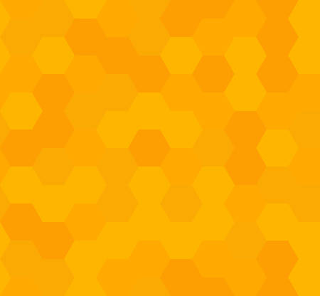 Grid seamless pattern. geometric background. abstract honeycomb. vector illustration. design for the background display, flyers, brochures fabric, clothes, texture, textile pattern. orange color