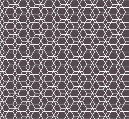 Hexagon seamless pattern. Islamic background. abstract modern tile. Vector illustration. Design for the background display, flyers, brochures fabric, clothes, texture, textile pattern.