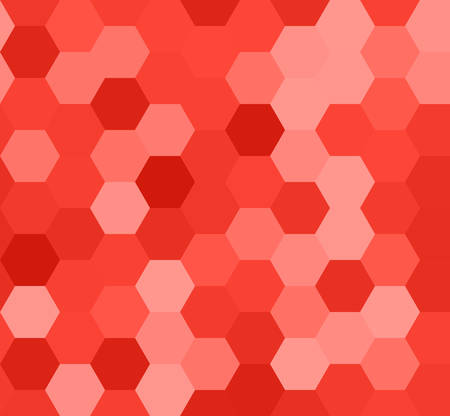 Hexagon seamless pattern. Geometric background. Abstract modern tile. Vector illustration. Design for the background display, flyers, brochures fabric, clothes, texture, textile pattern.