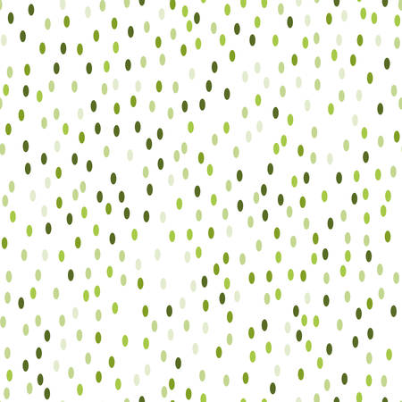 seamless green tiny particles pattern on white background. vector illustration for the background display, website, flyers, brochures and childrens fashion in a modern style