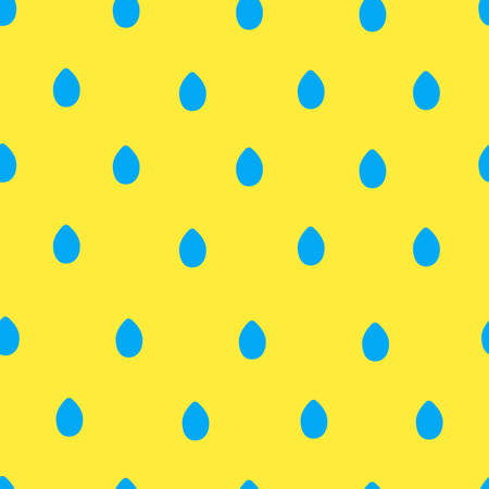 seamless colorful rain drops pattern on white background. vector illustration for the background display, website, flyers, brochures and childrens fashion in a modern style