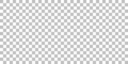 sfondo trasparente del modello. simulazione canale alfa png. quadrati grigi e bianchi senza soluzione di continuità. griglia di disegno vettoriale