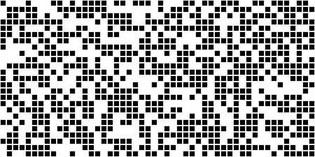 Pixel pattern. Vector seamless background. Abstrac texture design. Retro geometric illustration. Game wallpaper. Simple repeat square. Falling Pixels Illusztráció