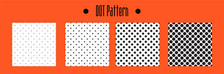 white mesh pattern. seamless Polka dot background. vector texture for note or notebook. black sheet paper
