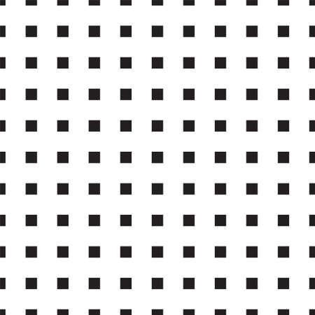 seamless square background. vector illustration. texture for note or notebook. black sheet paper. square pattern Иллюстрация