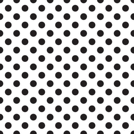 white mesh pattern. seamless Polka dot background. vector illustration. texture for note or notebook. black sheet paper Иллюстрация