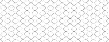 Mesh texture for fishing net. Seamless pattern for sportswear or football gates, volleyball net, basketball hoop, hockey, athletics. Abstract net background for sport. Vector mesh