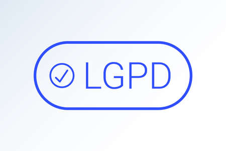 LGPD - Brazilian Data Protection Authority DPA, rights on white