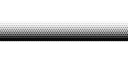 seamless halftone basic line border on the glass window. black vector illustration 矢量图像