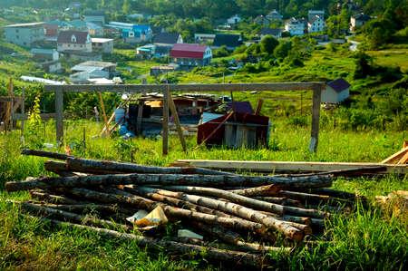 Colorful Village Landscape photo
