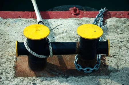 bollard: Colorful Sea Bollard