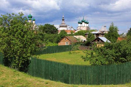 church group: church group, Rostov, Russia Stock Photo