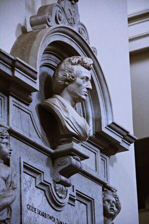 compose: in church, Warsaw, Poland
