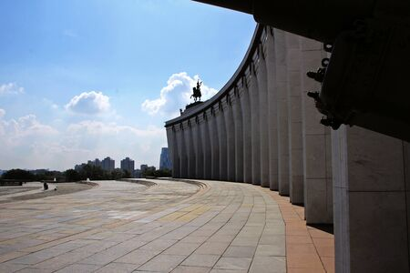goverment: landscapes with buildings and elements, Moscow Stock Photo