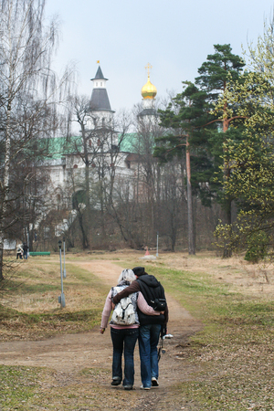 2010.04.17, Istra, Russia. An old church.