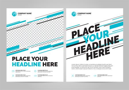 Flyer design sports invitation template.