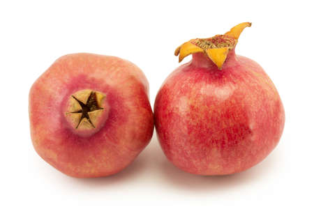 still life, pomegranate on a white background Stock Photo - 15543128