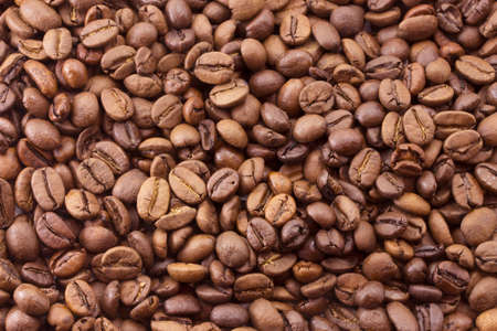 roasted coffee beans, cheerful morning breakfast Stock Photo - 15886150