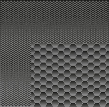 metal grill background Vector