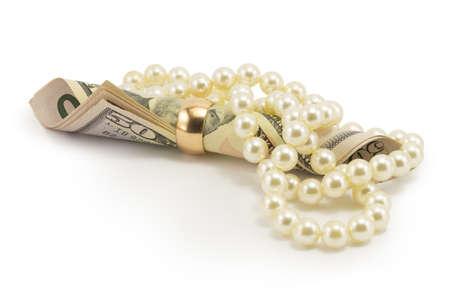 money, dollars isolated on white background Stock Photo - 16793302