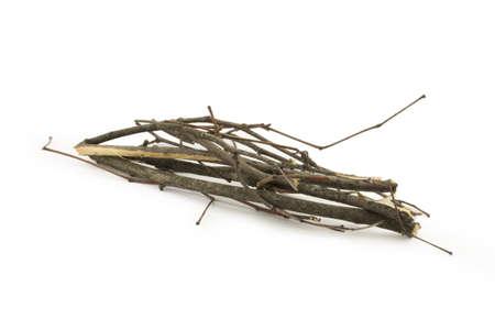 brushwood: brushwood isolated on white background