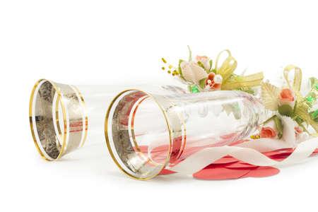wineglass isolated on white background Stock Photo - 17408364