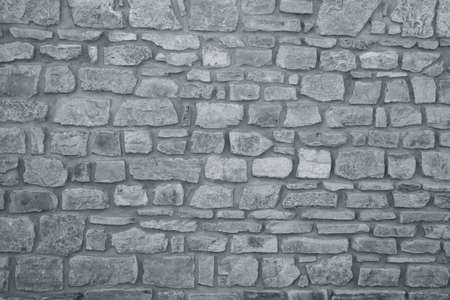 Background of stone wall texture Banco de Imagens
