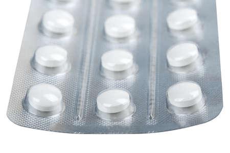 medical pills isolated on white background Stock Photo - 19267763