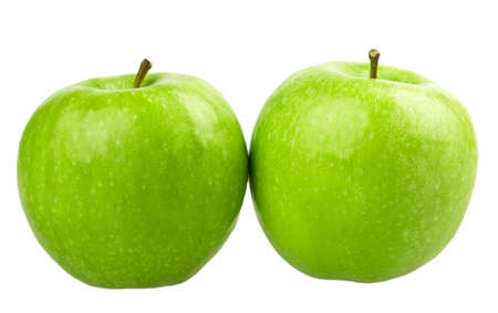 apple isolated on white background photo