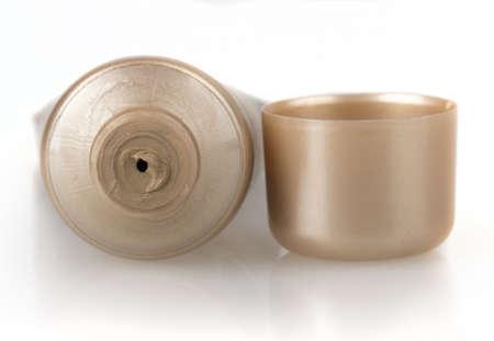 tube cream isolated on white background photo