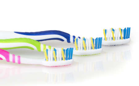 toothbrush isolated on white background photo
